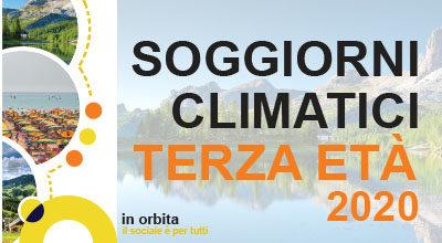 Soggiorni climatici anziani 2020 – comunicazione annullamento iniziativa a seguito dell'emergenza Covid-19