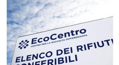 Apertura EcoCentro venerdì 24 aprile