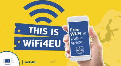 WiFi4EU – Attivato il servizio WiFi pubblico e gratuito