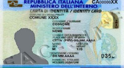 Rilascio carta d'identità elettronica